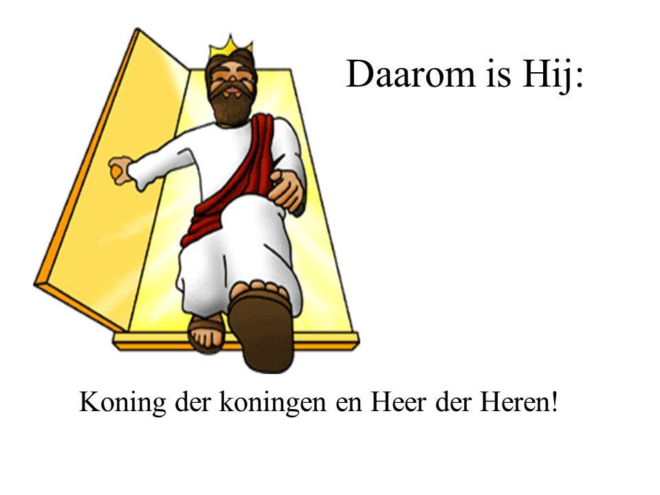 Koning Jezus is totaal anders Hij gaf zijn leven om de wereld te redden