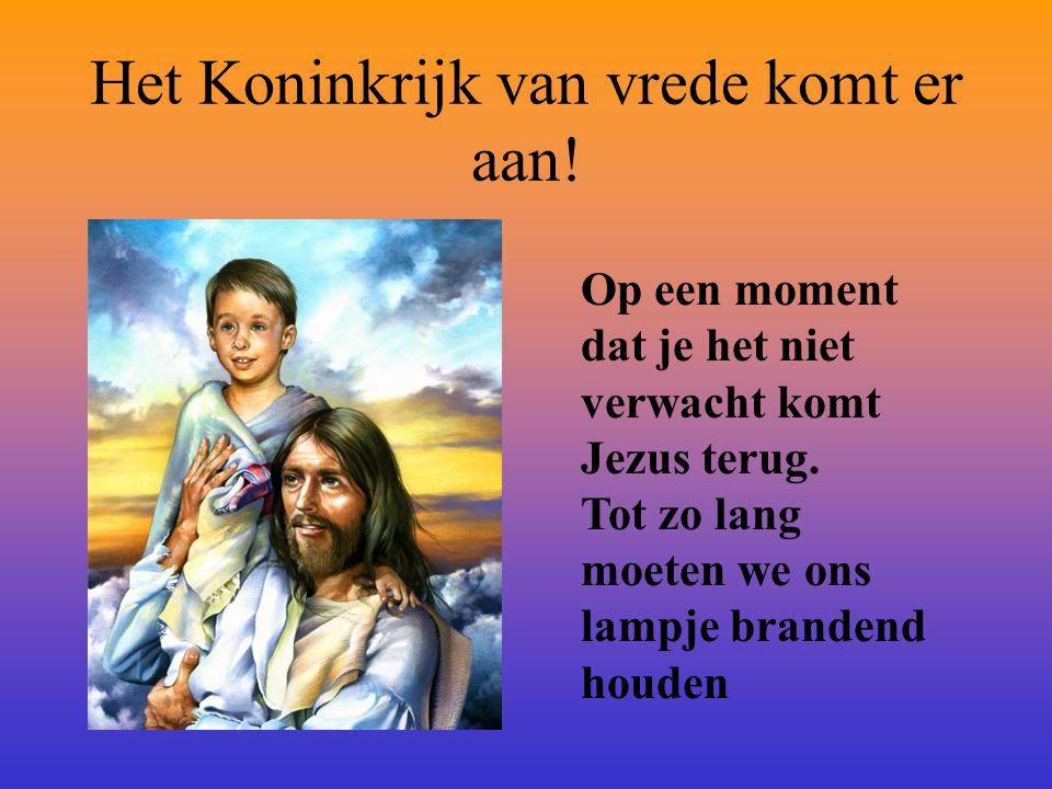Jezus zit aan Gods rechterhand Hij zegt: Mij is gegeven alle macht in hemel en op aarde