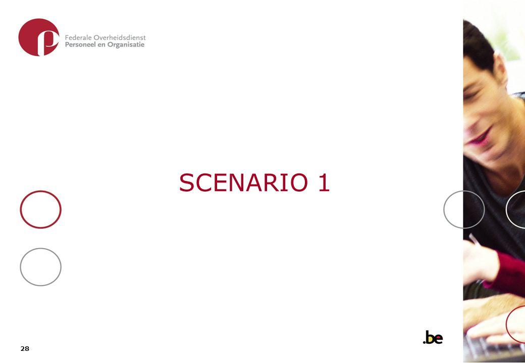 28 SCENARIO 1