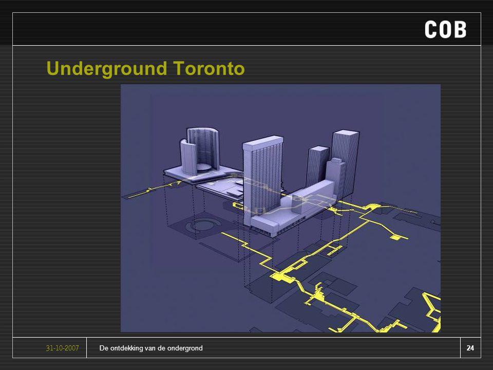 24De ontdekking van de ondergrond31-10-2007 Underground Toronto