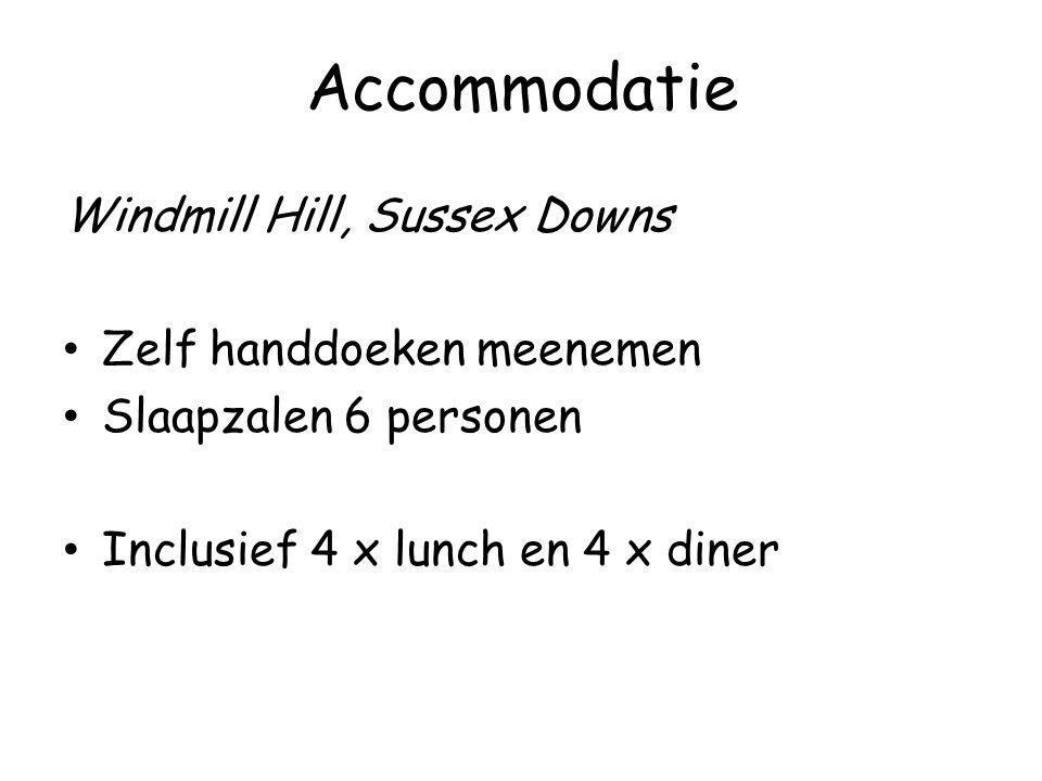 Windmill Hill, Sussex Downs Zelf handdoeken meenemen Slaapzalen 6 personen Inclusief 4 x lunch en 4 x diner