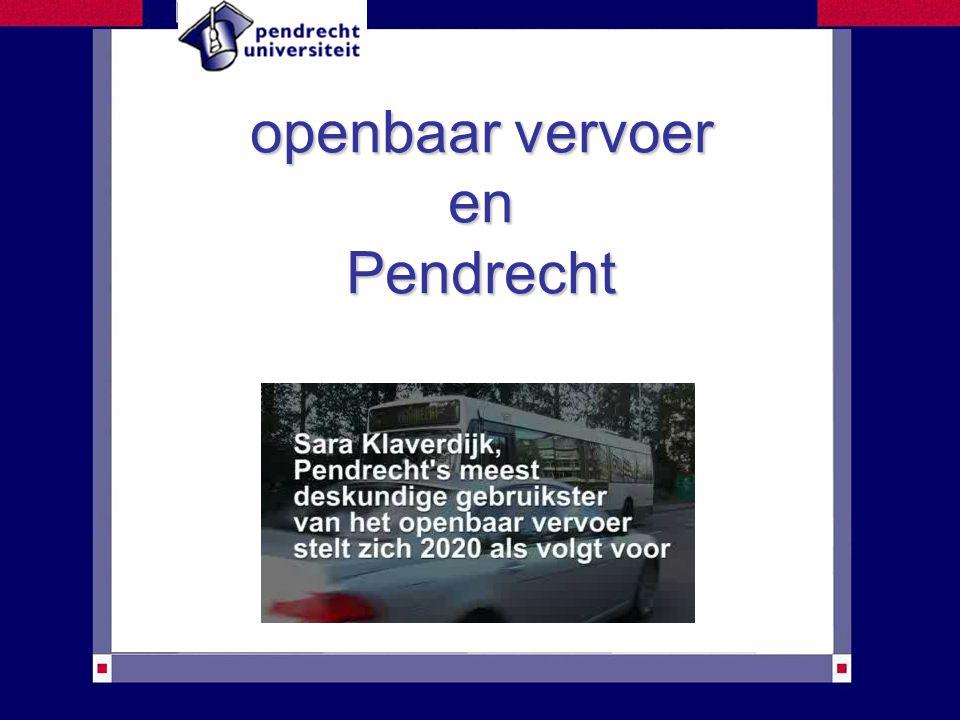 openbaar vervoer en Pendrecht