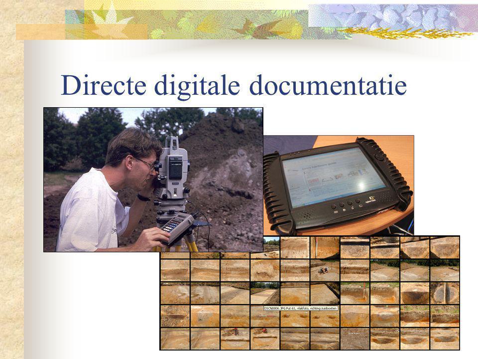 Eénmalig waarnemingsproces Documentatie moet in één keer goed