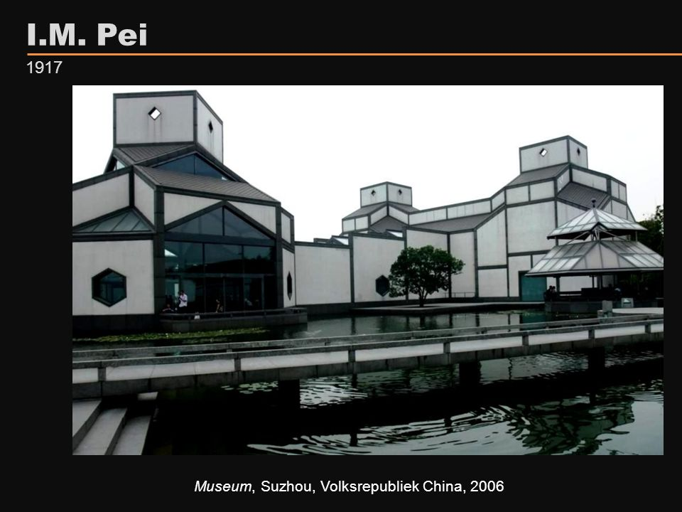 I.M. Pei 1917 Museum, Suzhou, Volksrepubliek China, 2006