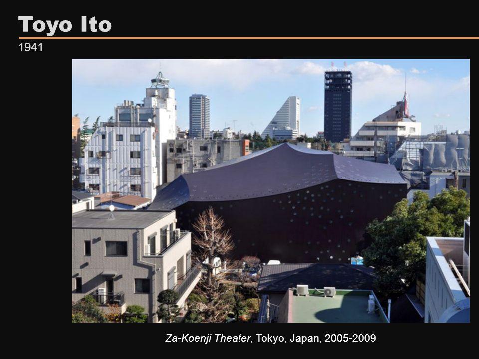 Toyo Ito Za-Koenji Theater, Tokyo, Japan, 2005-2009 1941