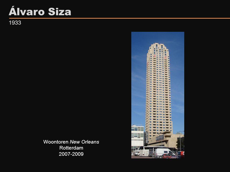 Álvaro Siza 1933 Woontoren New Orleans Rotterdam 2007-2009
