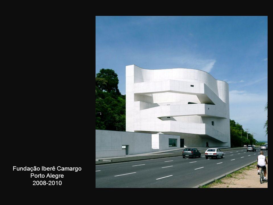 Fundação Iberê Camargo Porto Alegre 2008-2010