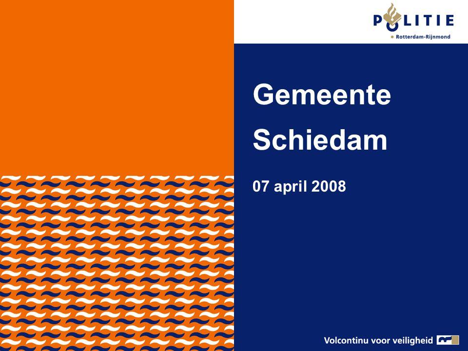 Gemeente Schiedam 07 april 2008