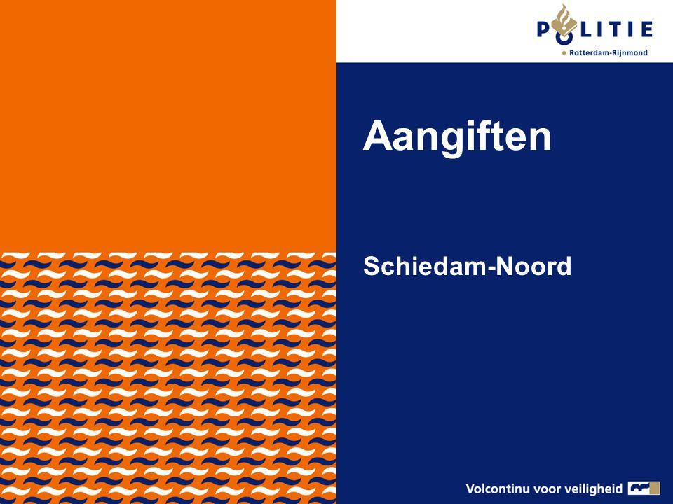 Aangiften Schiedam-Noord