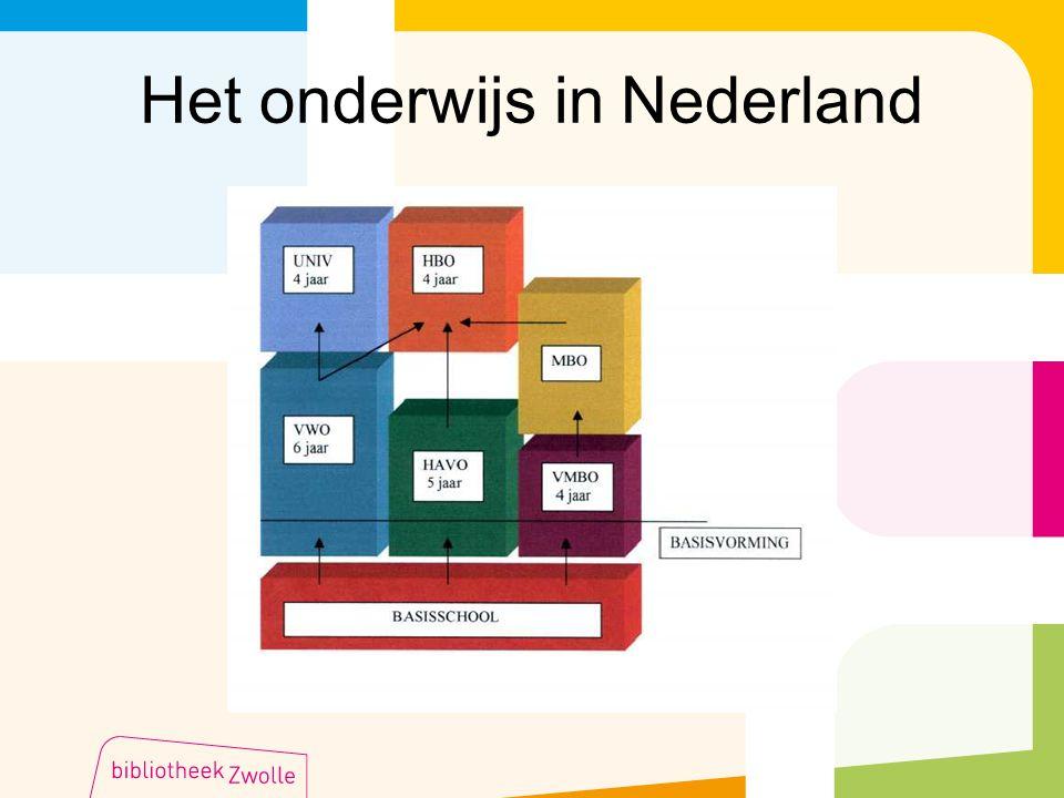 Het onderwijs in Nederland