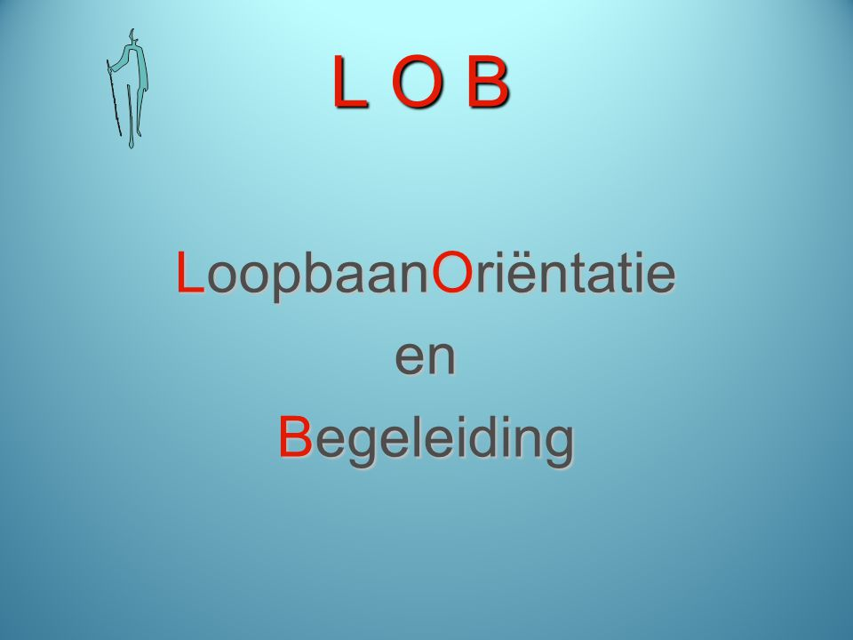 L O B LoopbaanOriëntatie en Begeleiding
