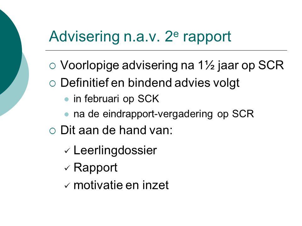 Advisering n.a.v.