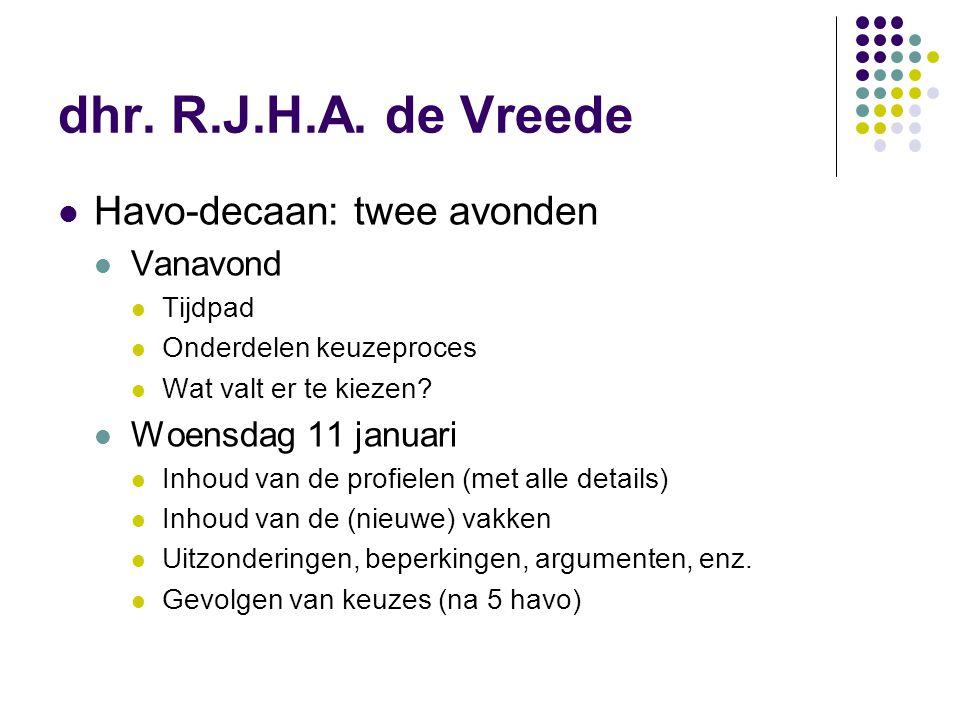 Tijdpad (1) tot 1 februari (voorlopige keuze) algemene mentorlessen en keuzebegeleidingslessen (mentor en decaan) 4 november Delft Career Day 17 november beroepenmarkt op locatie Westplantsoen november/december nog 1 of 2 interessetesten