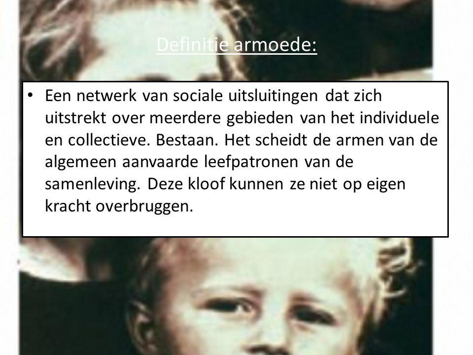 Armoede meten: In België wordt armoede gemeten aan de hand van een armoedegrens die 60% van het mediaan equivalente inkomen bedraagt.
