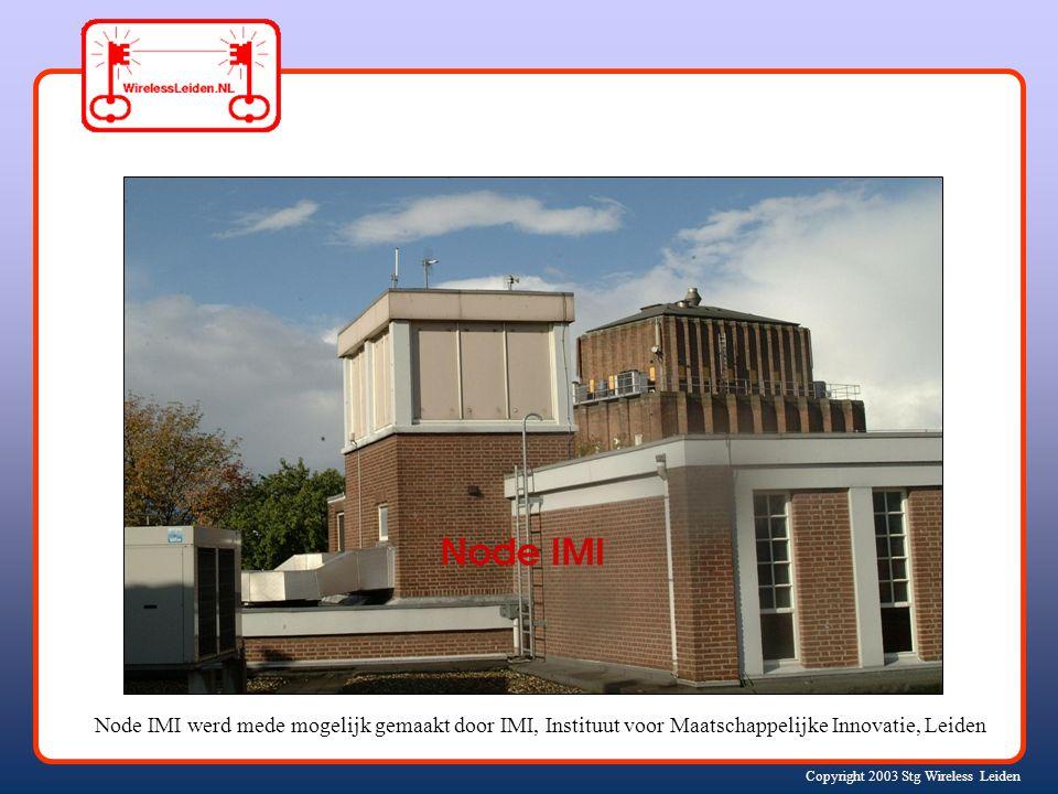 Copyright 2003 Stg Wireless Leiden Node Meca Katwijk a/Z