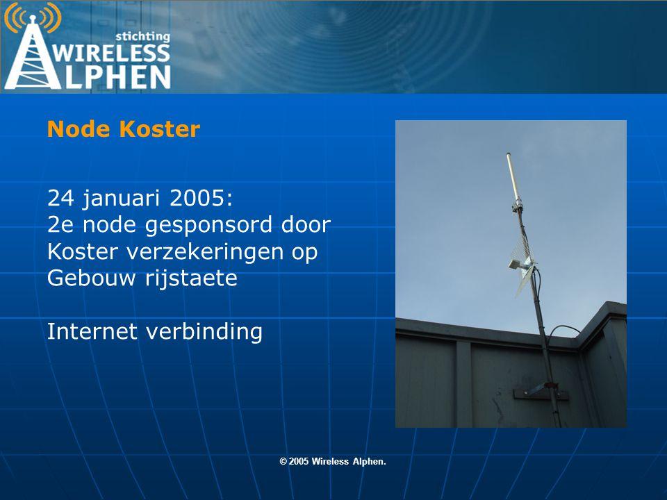 © 2005 Wireless Alphen.