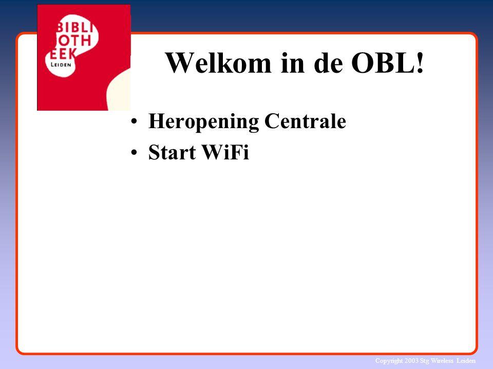 Copyright 2003 Stg Wireless Leiden 9292