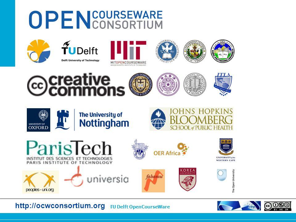 http://ocw.tudelft.nl | TU Delft OpenCourseWare http://ocwconsortium.org