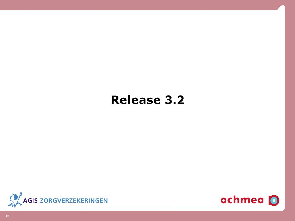 10 Release 3.2