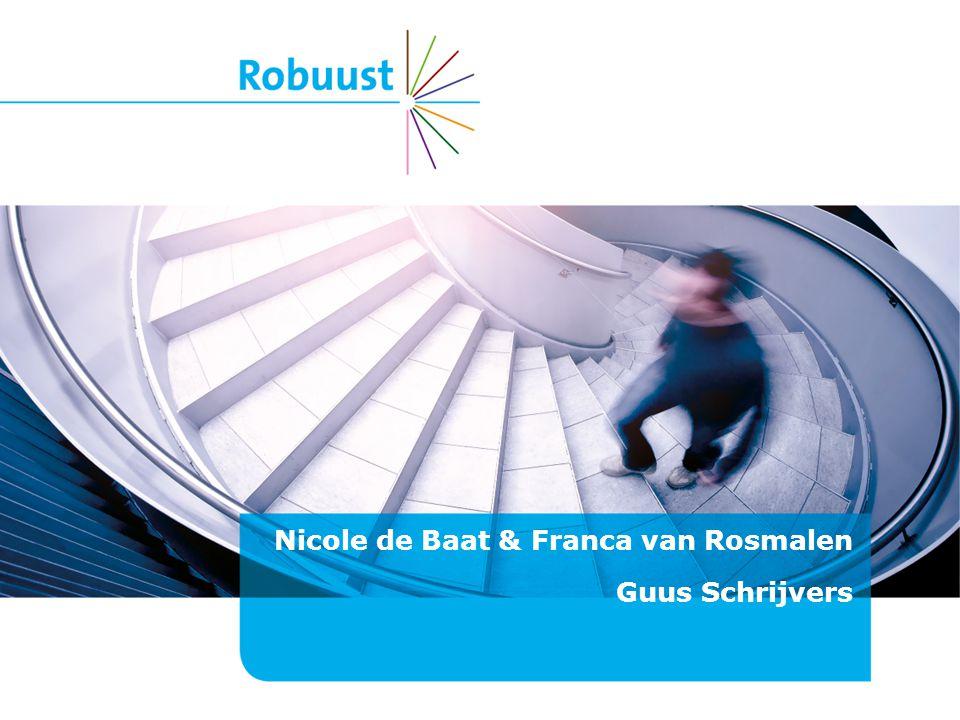 Nicole de Baat & Franca van Rosmalen Guus Schrijvers