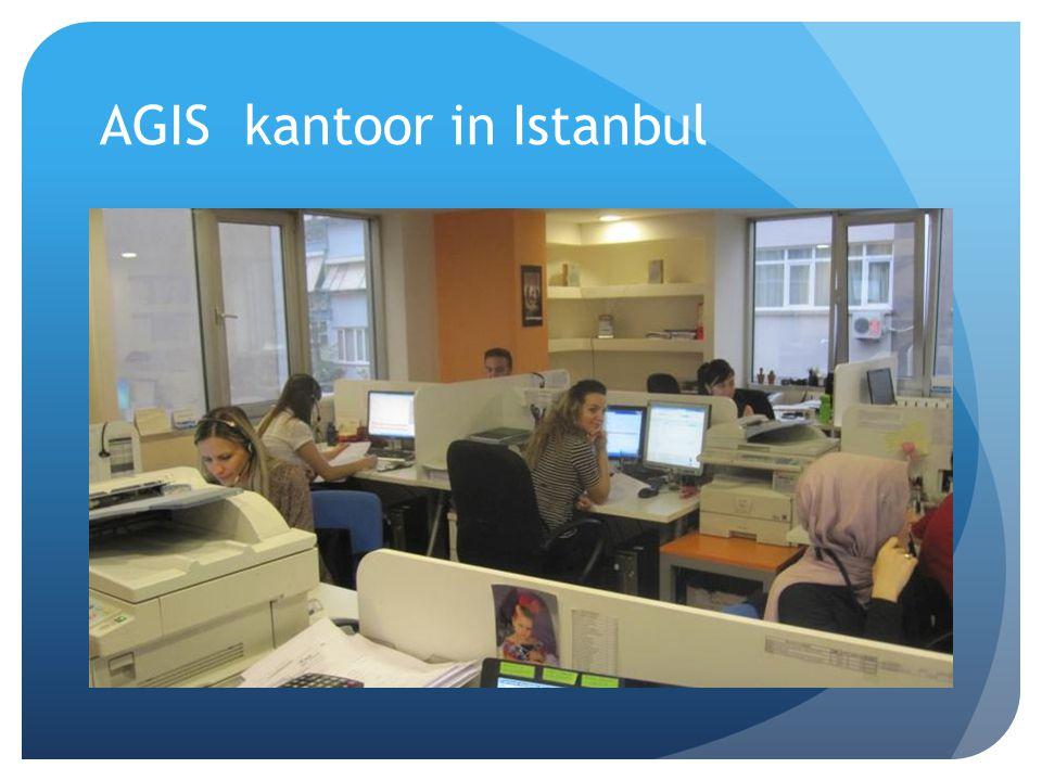 AGIS kantoor in Istanbul
