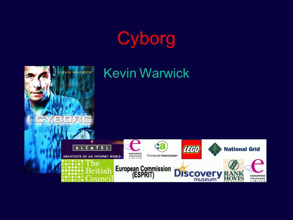 Cyborg iconen Arnold Schwarzenegger: Terminator/governator Christopher Reeve: Superman/superpatient Kevin Warwick: Mad science/mad marketting