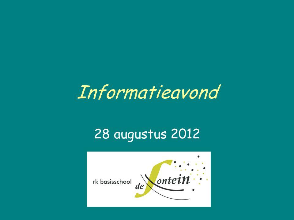 Informatieavond 28 augustus 2012