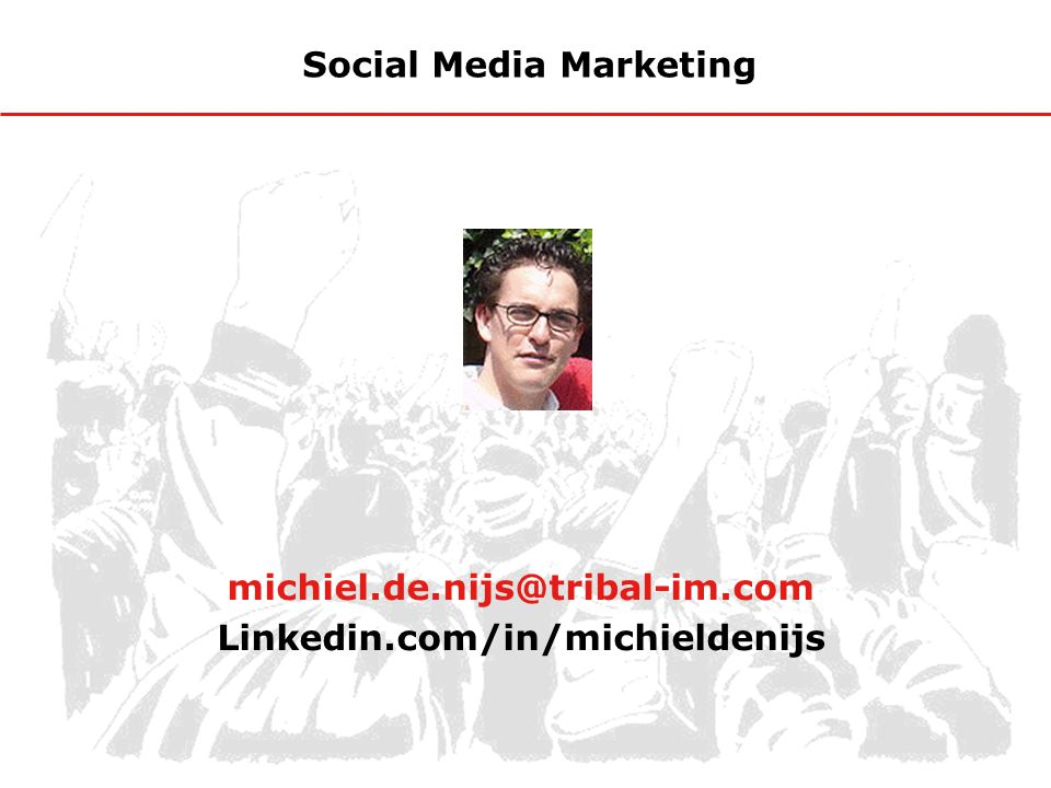 Social Media Marketing Linkedin.com/in/michieldenijs