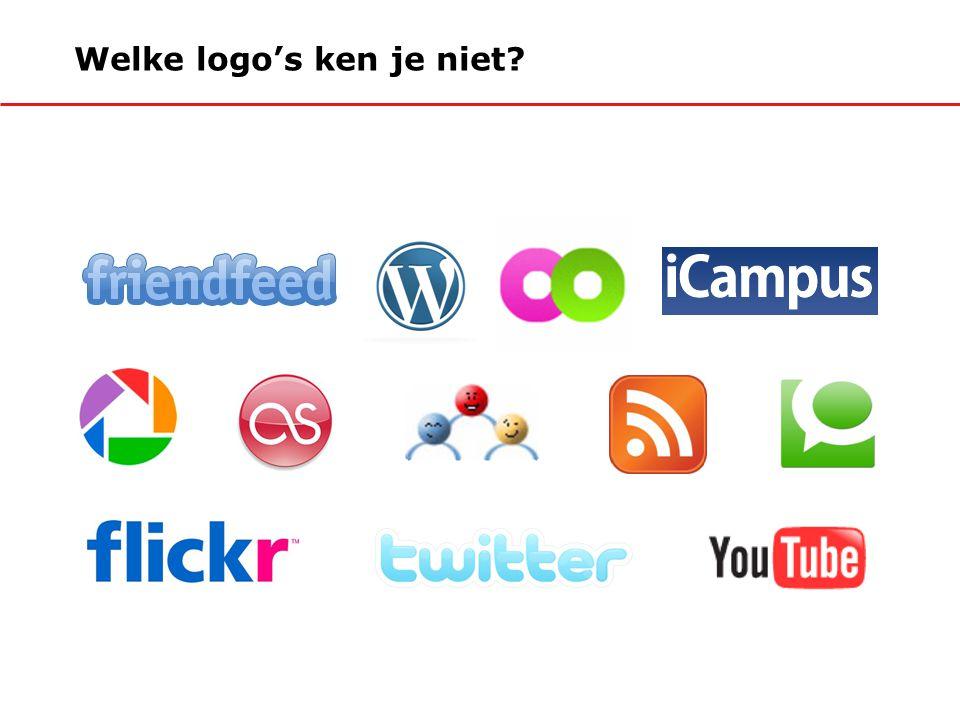 Welke logo's ken je niet?