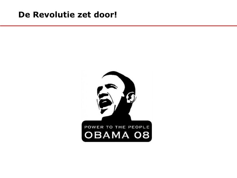 De Revolutie zet door!