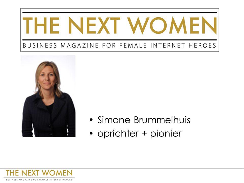 Simone Brummelhuis oprichter + pionier