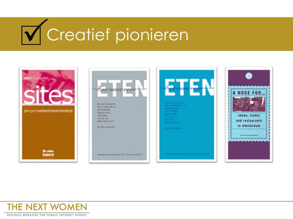 Creatief pionieren