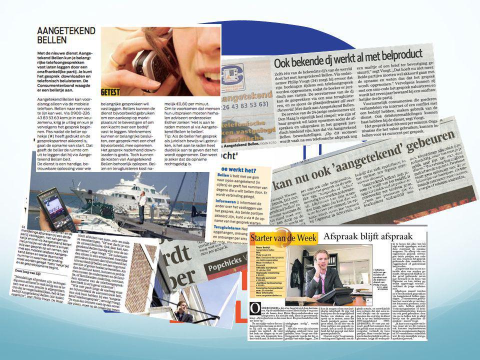''Wederzijds gemaakte afspraken vastgelegd met juridische zekerheid''