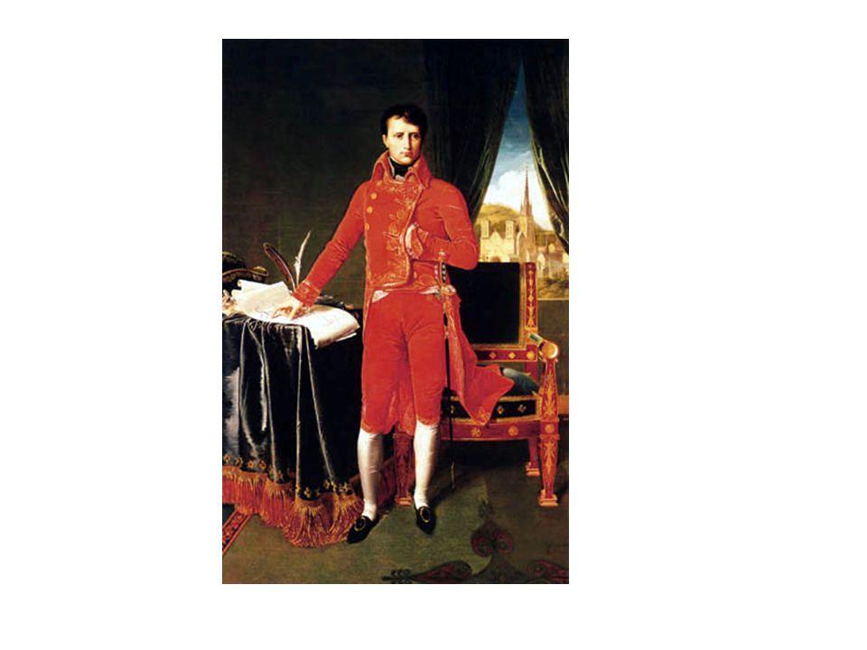 Identiteitskaart Napoleone Buonaperte (Italiaanse naam) 15 augustus1769 5 mei 1821 aan maagkanker eerst in Italië op Corsica - later in Frankrijk keizer van de Fransen,koning van Italië, legerleider eerst getrouwd met Joséphine de Beauharnais daarna met Marie Louise van Oostenrijk