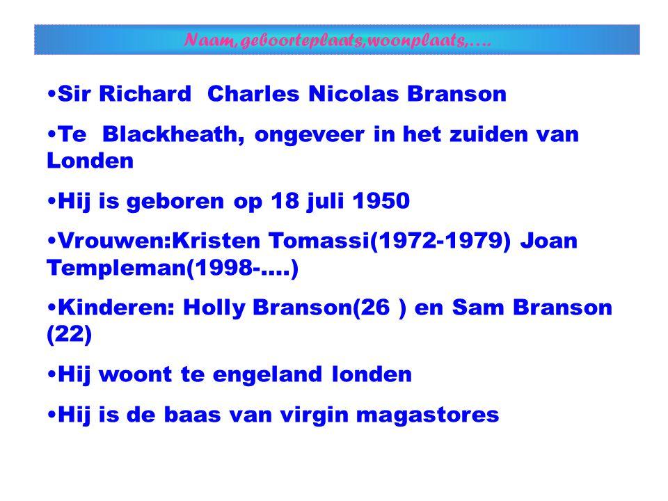 Richard met Kristen Tomassi Richard met Joan Templeman