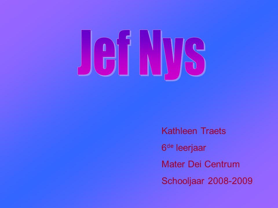 Kathleen Traets 6 de leerjaar Mater Dei Centrum Schooljaar 2008-2009