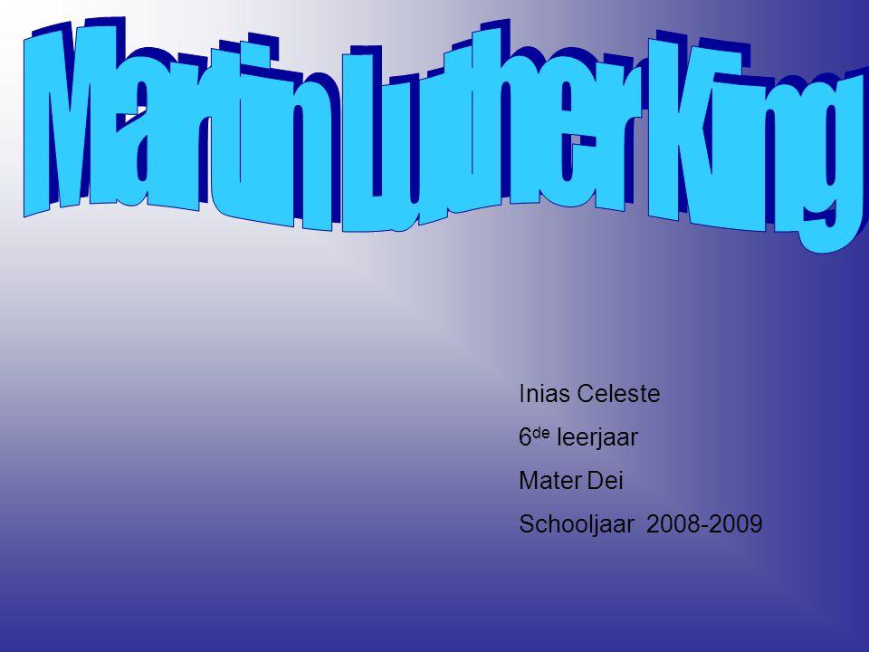 Inias Celeste 6 de leerjaar Mater Dei Schooljaar 2008-2009