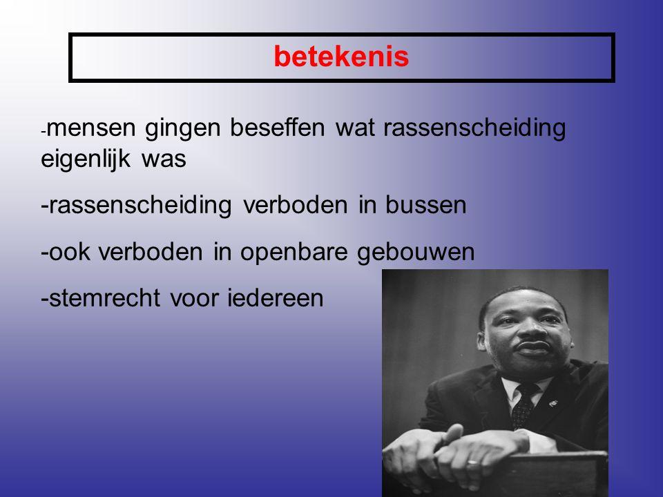 Extra informatie -de 'I have a dream' -speech