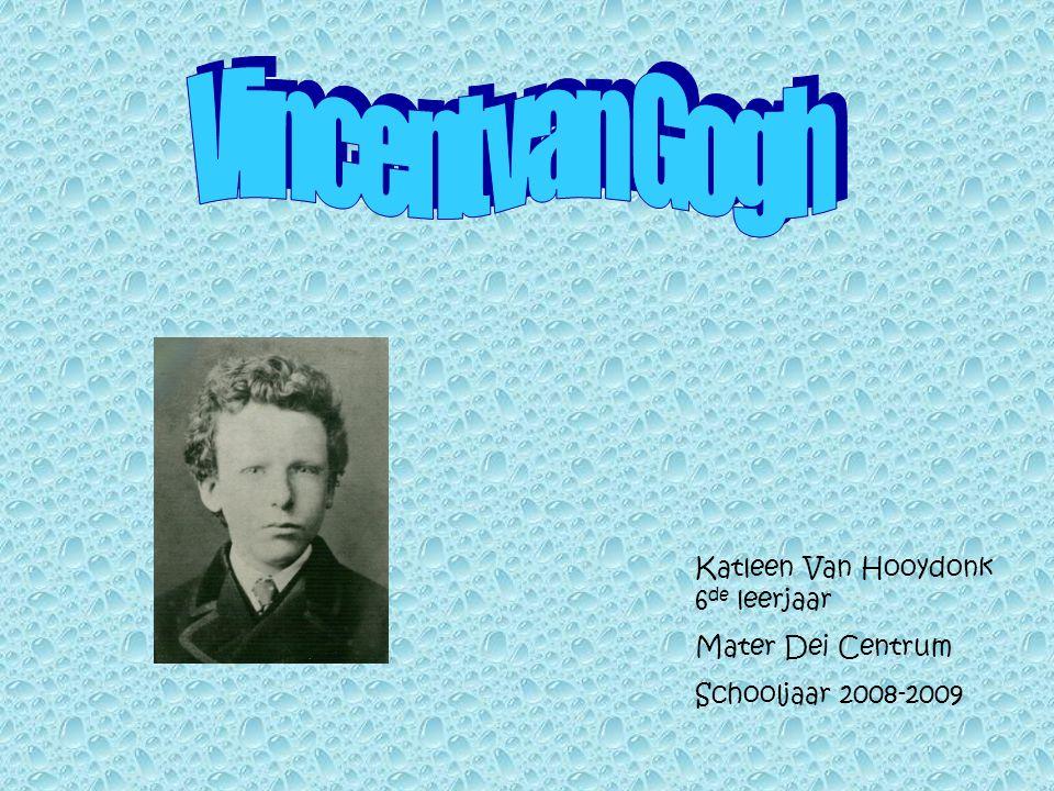 Katleen Van Hooydonk 6 de leerjaar Mater Dei Centrum Schooljaar 2008-2009