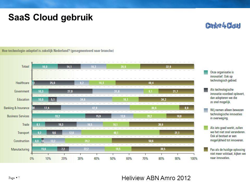 Page  8 SaaS Cloud gebruik Heliview ABN Amro 2012