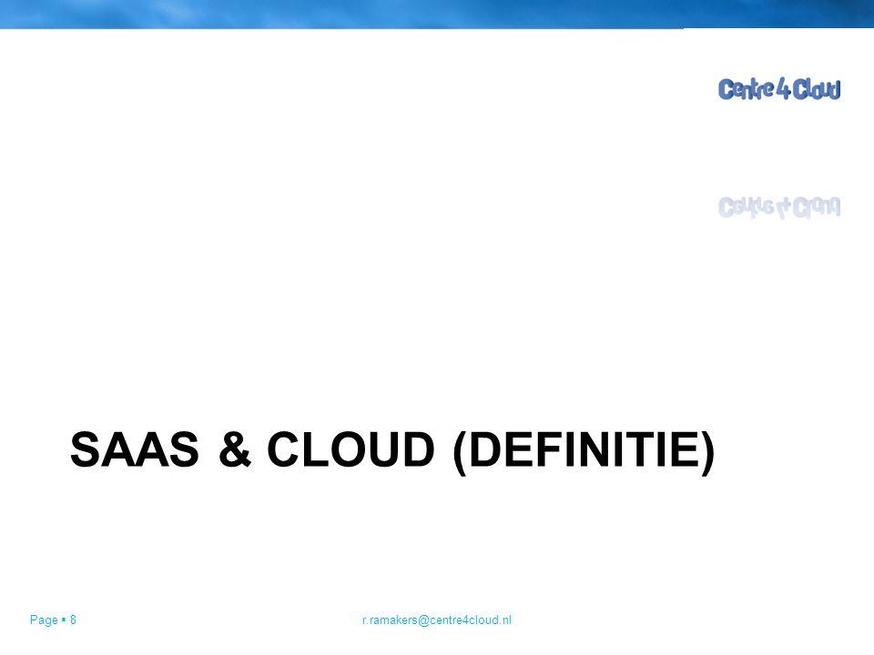 Page  19 SaaS~Cloud Netwerk Information Services Nederland kent maar liefst 12 basisregistraties!