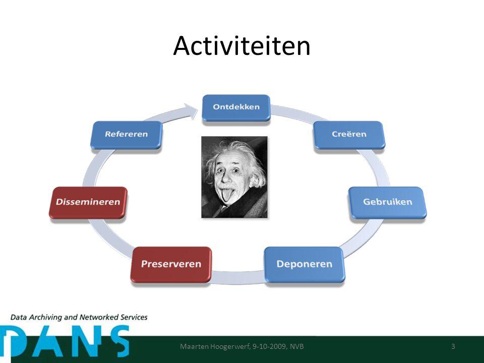 Activiteiten Maarten Hoogerwerf, 9-10-2009, NVB3