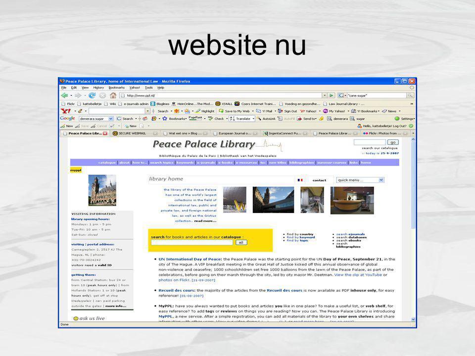 website nu