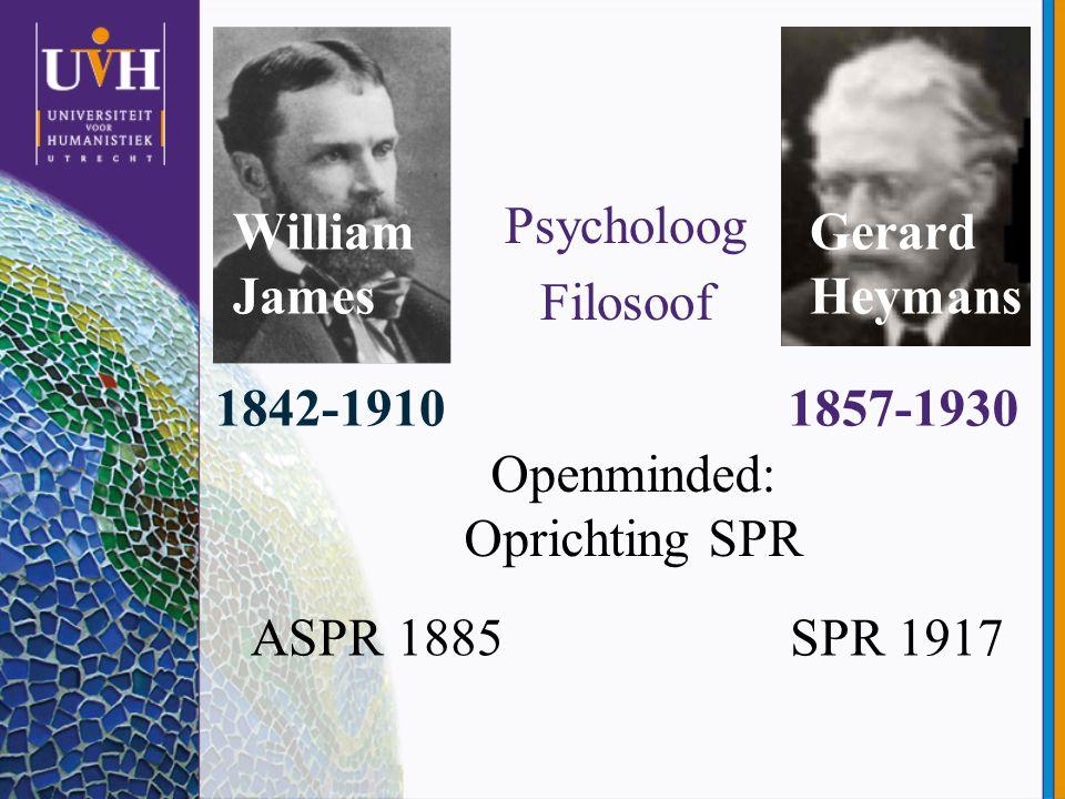 Theoretische overwegingen (1) Kan de fysica psi accomoderen.