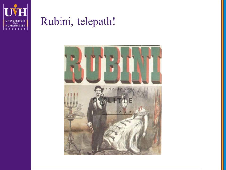 Rubini, telepath!
