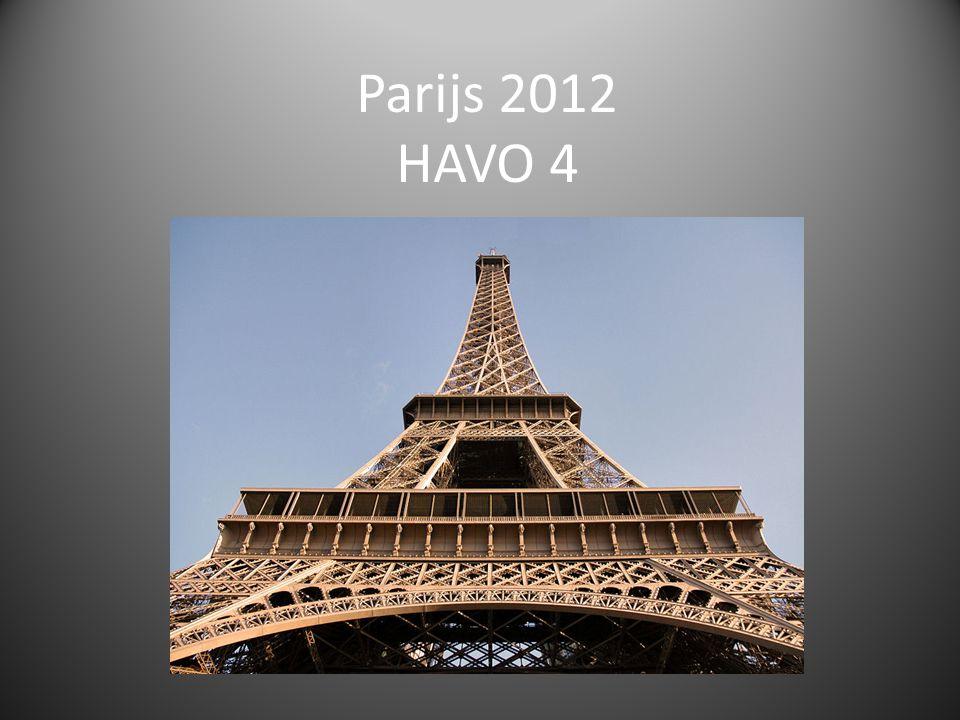 Parijs 2012 HAVO 4