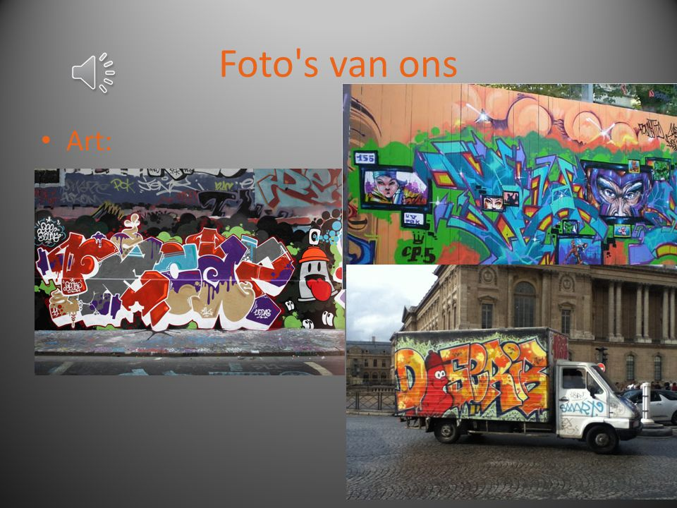 Foto's van ons Vandalisme