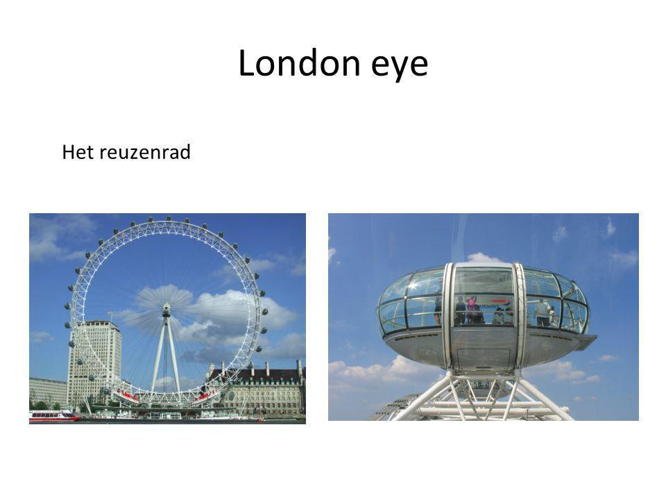 London eye Het reuzenrad