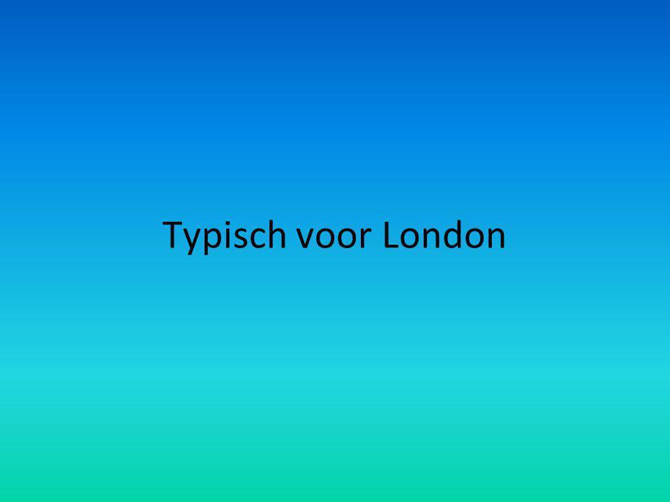 Typisch voor London