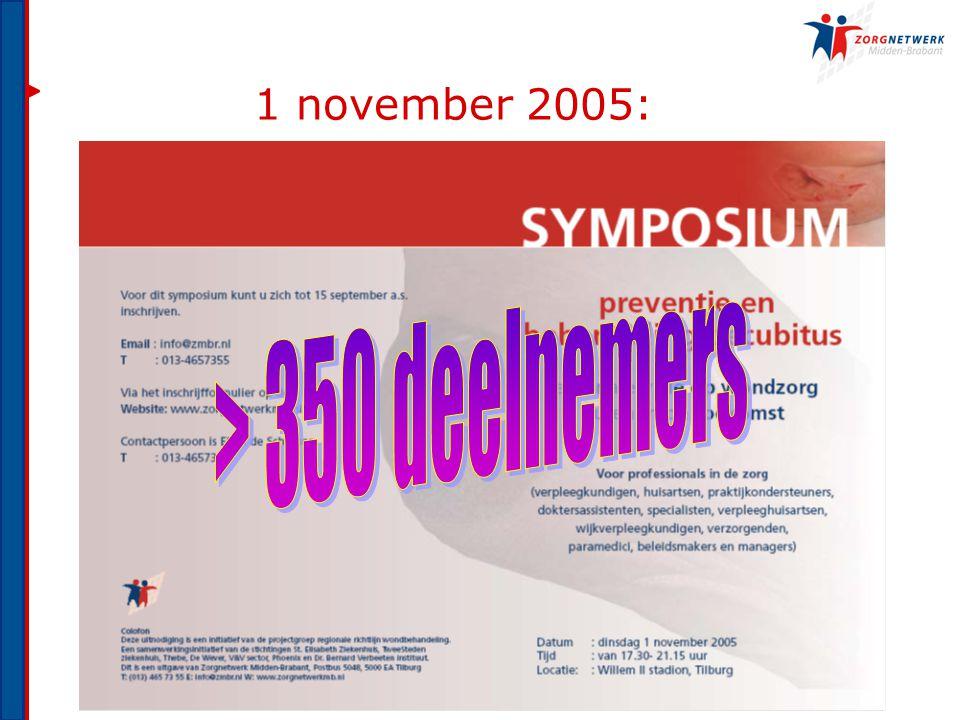 1 november 2005: